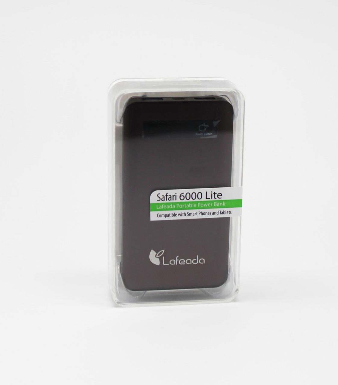 Wholesale power pack : safari 6000 lite, brown, universal power bank