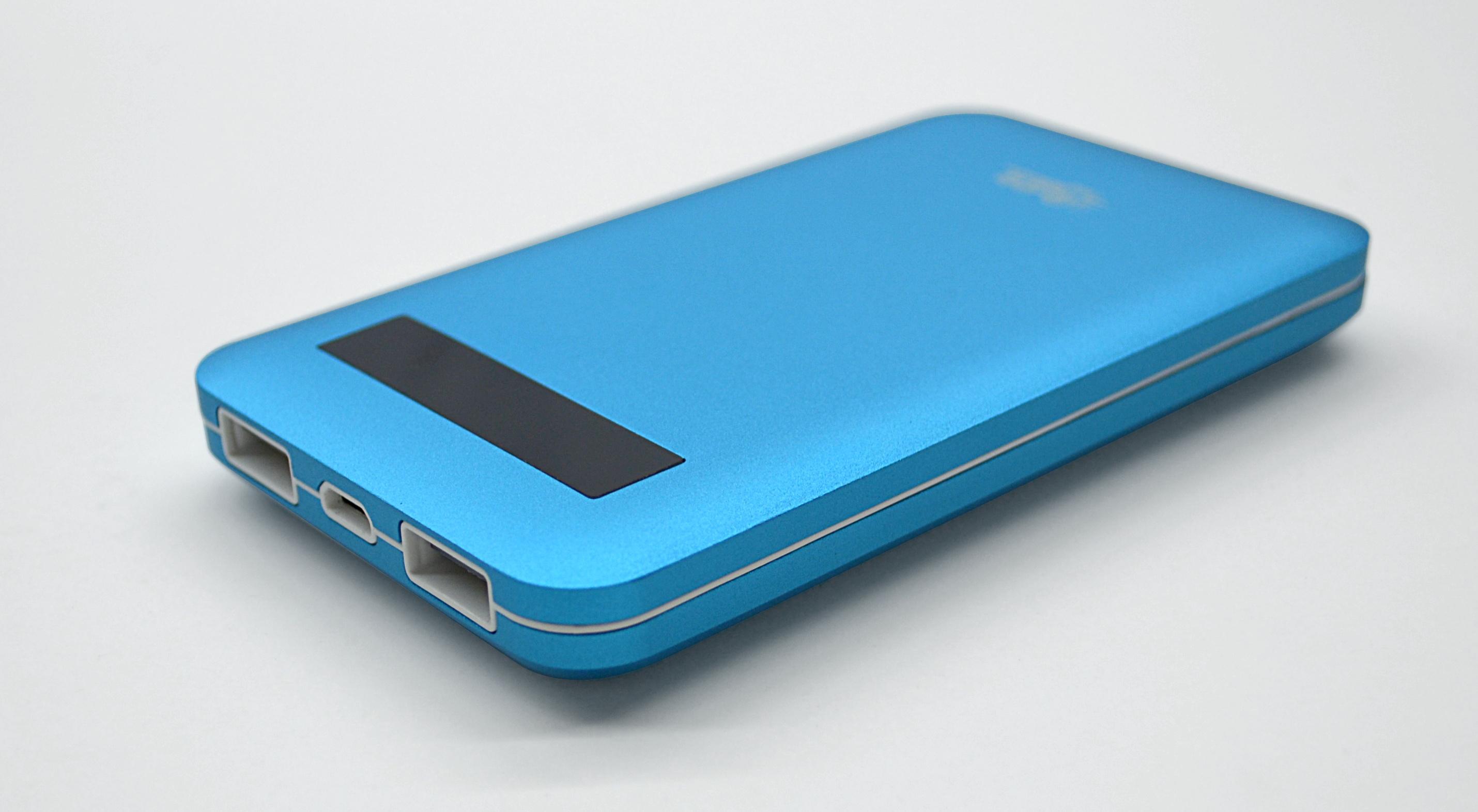 Wholesale power pack : safari-8000 universal power pack blue