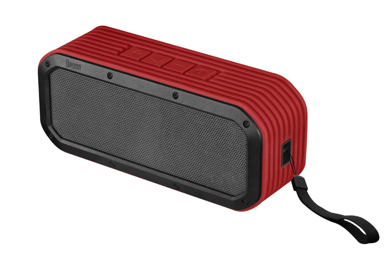 Wholesale lifestyle speaker: voombox outdoor red, bluetooth, built-in mic., rms 15w, water-resistant