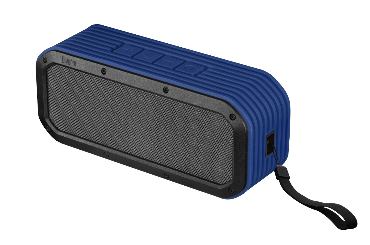 Wholesale lifestyle speaker: voombox outdoor blue, bluetooth, built-in mic., rms 15w, water-resistant