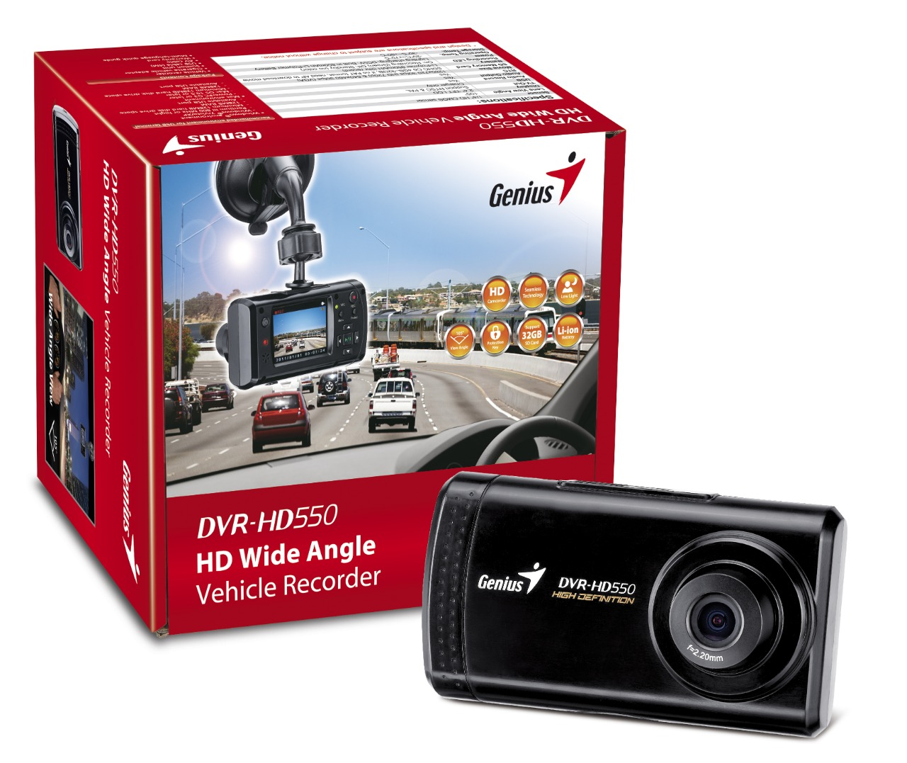 WHOLESALE VEHICLE RECORDER : DVR HD550_3