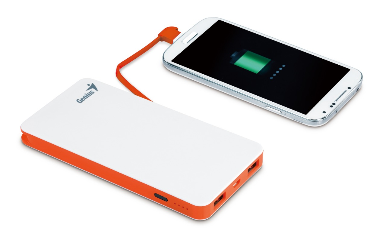 WHOLESALE POWER PACK : ECO-U821, 8000MAH, WHITE, BUILT IN MICRO USB CABLE, 4 LED INDICATOR_3