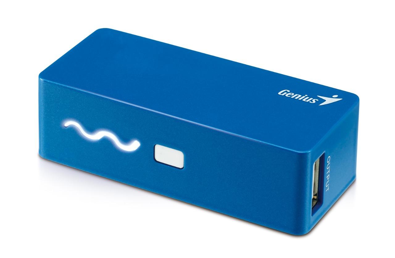 WHOLESALE POWER PACK : ECO-U261, 2600mAh, BLUE, COMPACT SIZE, 4 LED INDICATOR_2