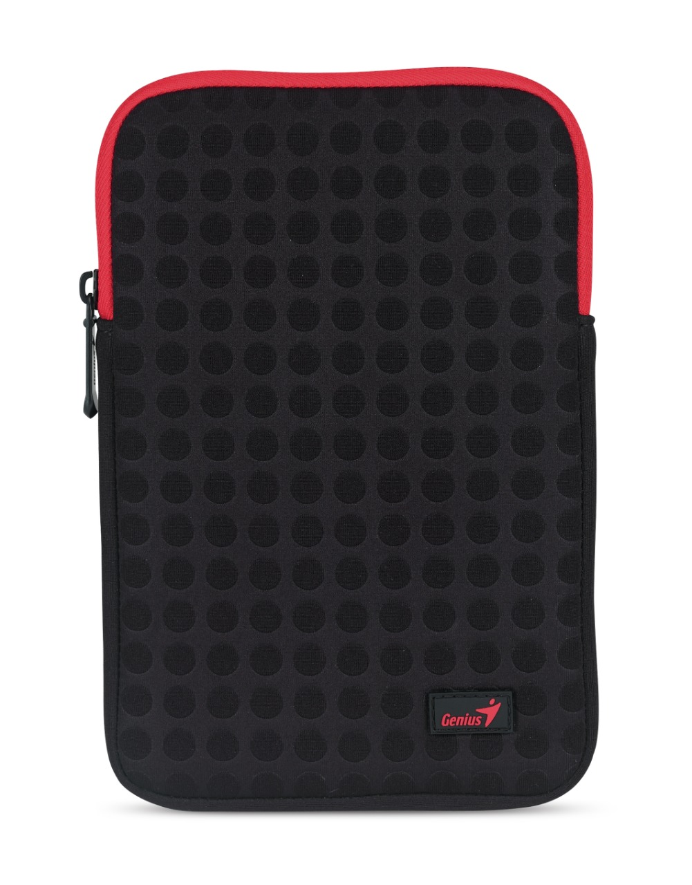 Wholesale sleeve bag : gs-1021 polyester bag black red