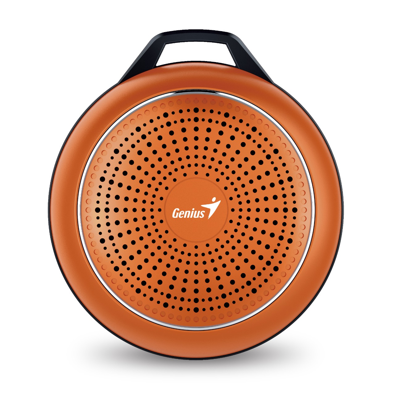 WHOLESALE SPEAKER : SP-906BT PLUS 10 HOURS PLAY TIME, 780MAH BATTERY WITH CARABINER LINE IN CABLE, FLAME ORANGE_2