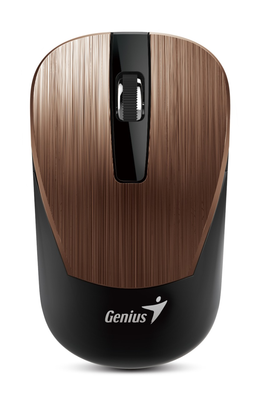 WHOLESALE MOUSE : NX-7015, BLUEEYE / UNIFIED RECEIVER,HAIRLINE DESIGN 1600 DPI BROWN_2