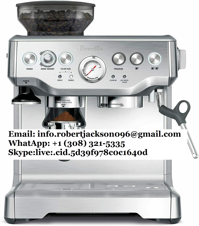 Brevilles bes870bss barista express coffee machine