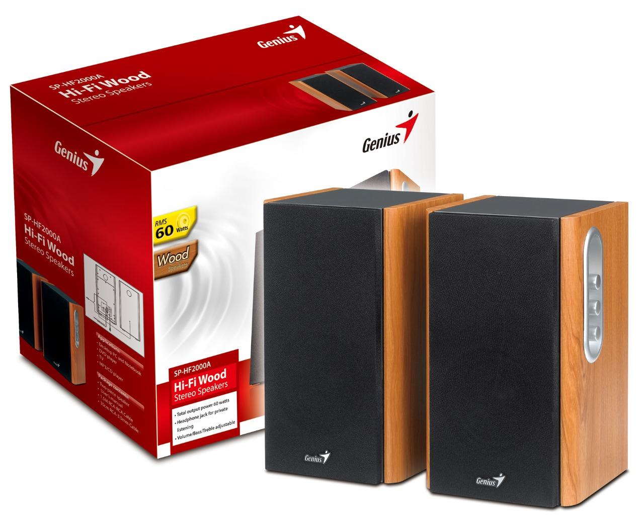 WHOLESALE SPEAKER : SP-HF2000A 230V EU - 60 watt Hi-Fi wood speakers_2