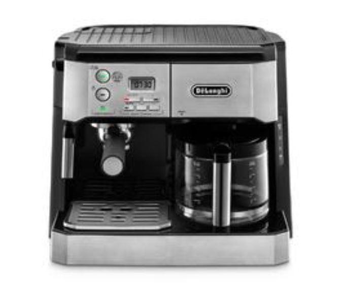 Delonghi america bco430 combi coffee and espresso machine, silver