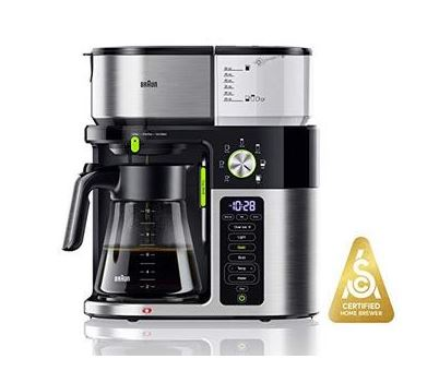 Braun MultiServe Coffee Machine 7 Programmable Brew Sizes / 3 Strengths   Iced Coffee & Hot Water for Tea, Glass Carafe_2