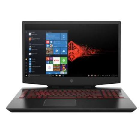 Hp omen 17-cb1080nr laptop (intel i7-10750h, 16gb ram, 1tb hdd, nvidia rtx 2070 super, win 10 home)