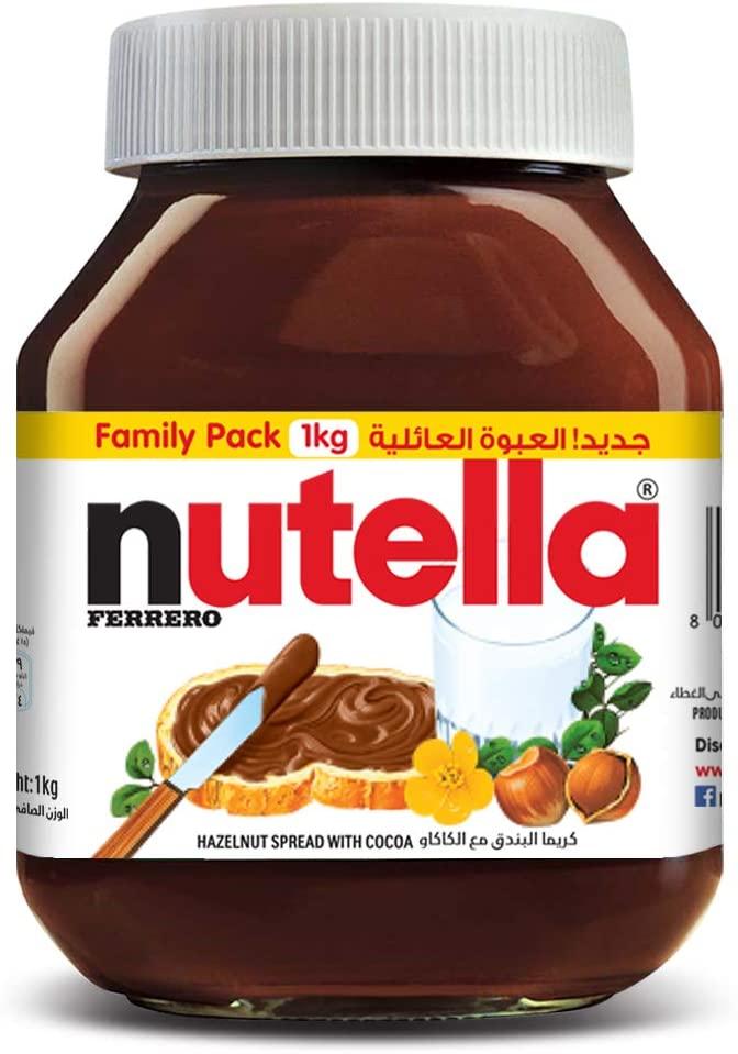 Nutella Hazelnut Spread with Cocoa 1kg_2