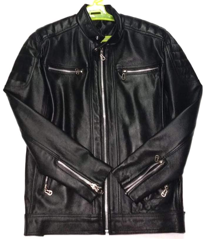 Premium genuine leather jacket
