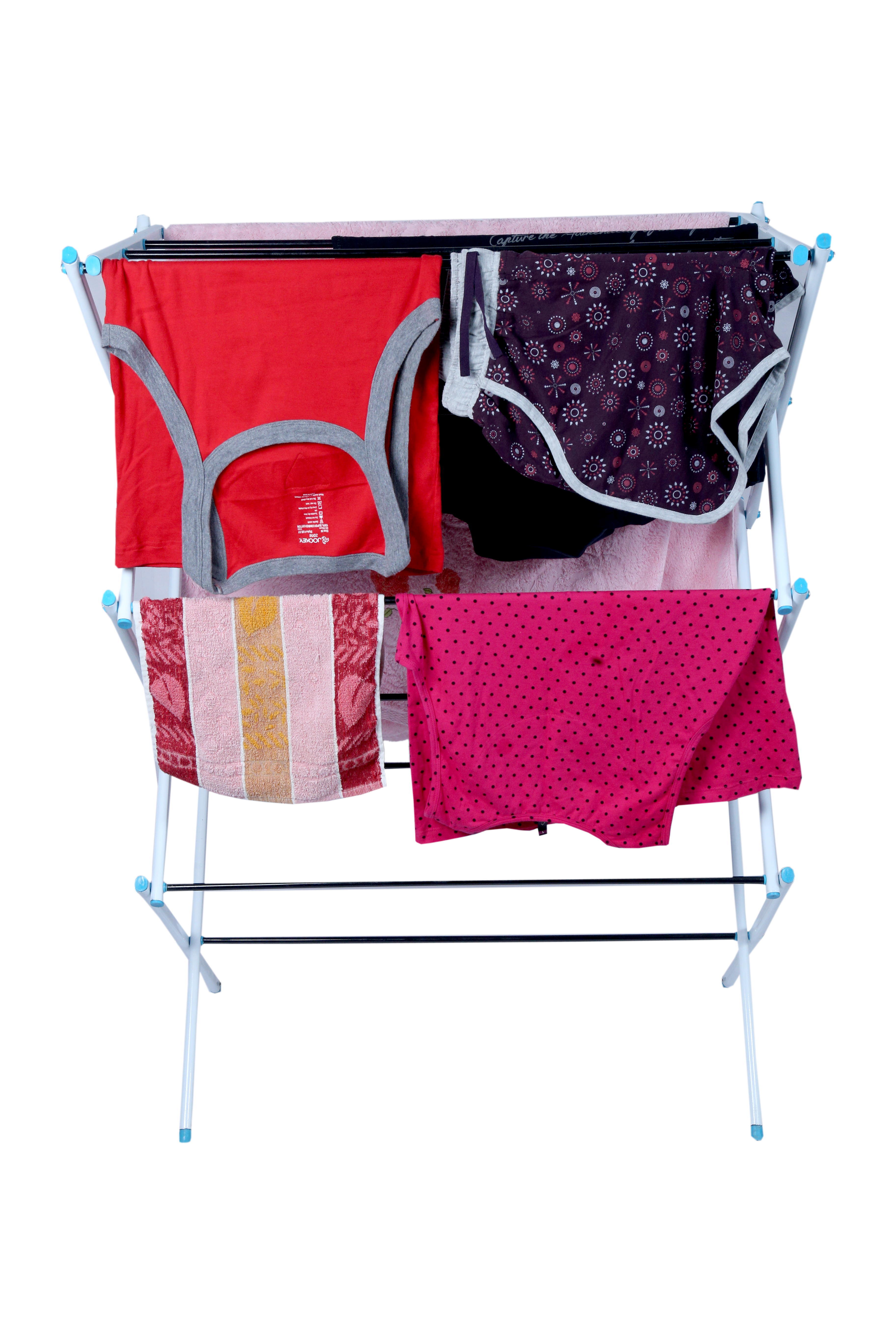 Polo cloth drying stand for indoor and outdoor applications