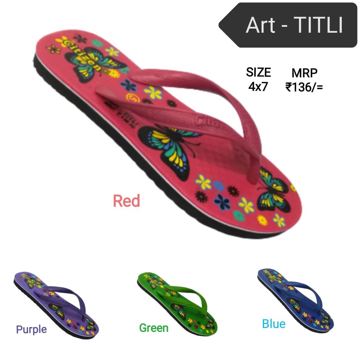 Citizen ladies hawai - titli slippers