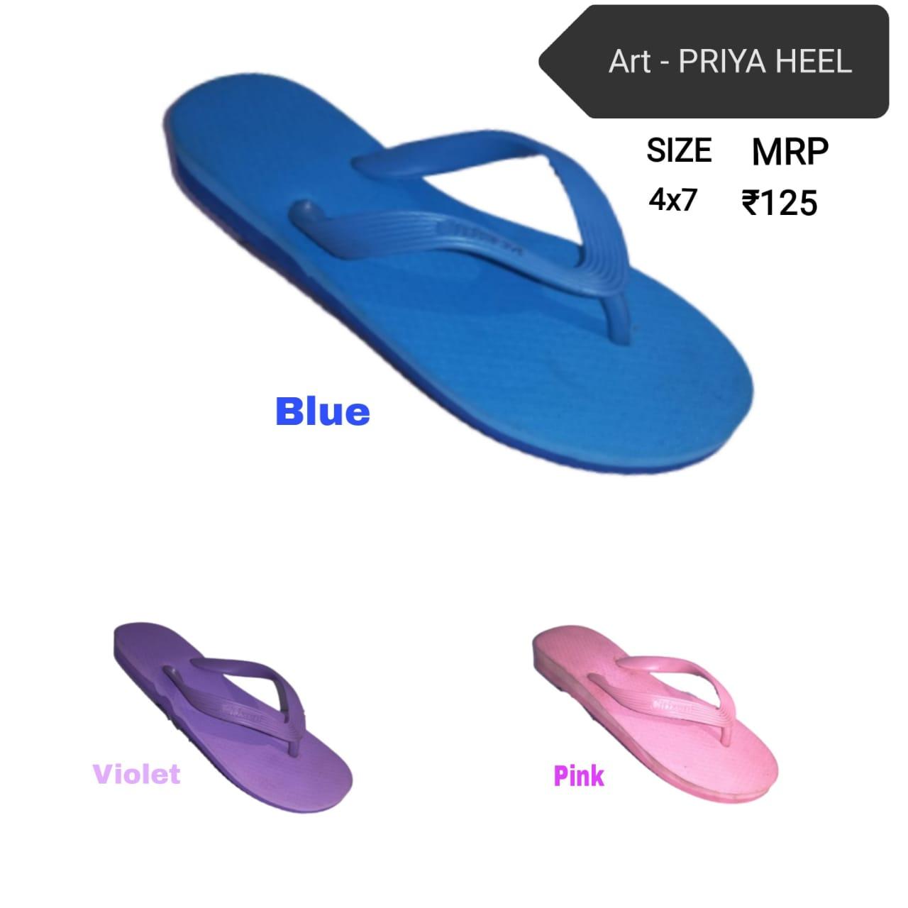 Citizen ladies hawai - priya heel #slippers #hawaichappal