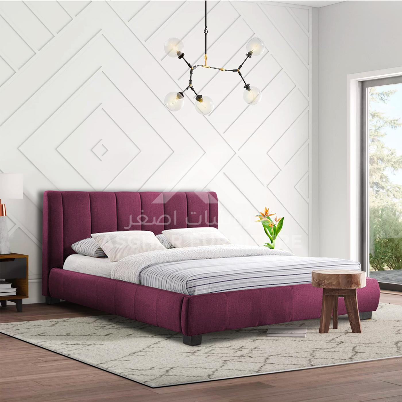 Colson fabric bed | beds furniture stores in jvc
