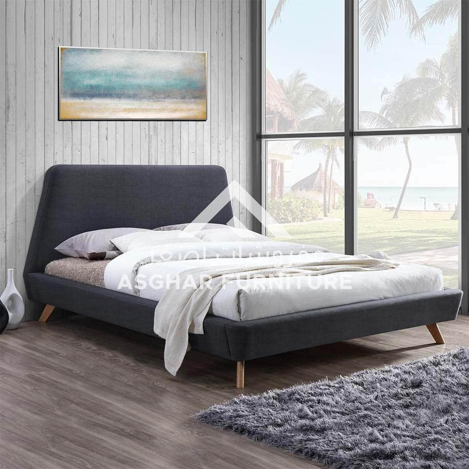 Carrington upholstered bed   beds furniture stores in jvc