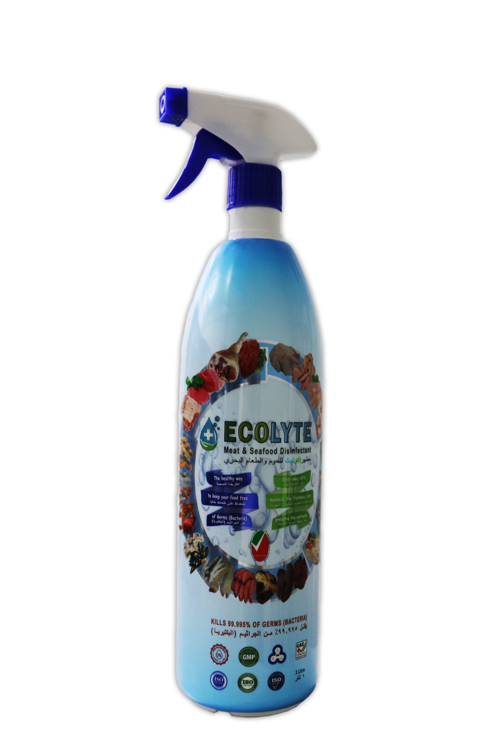 ECOLYTE MEAT AND SEAFOOD DISINFECTANT 1 LITRE
