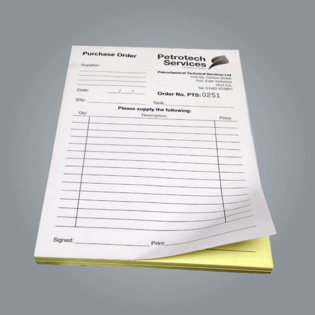 Business Receipt Printing_2