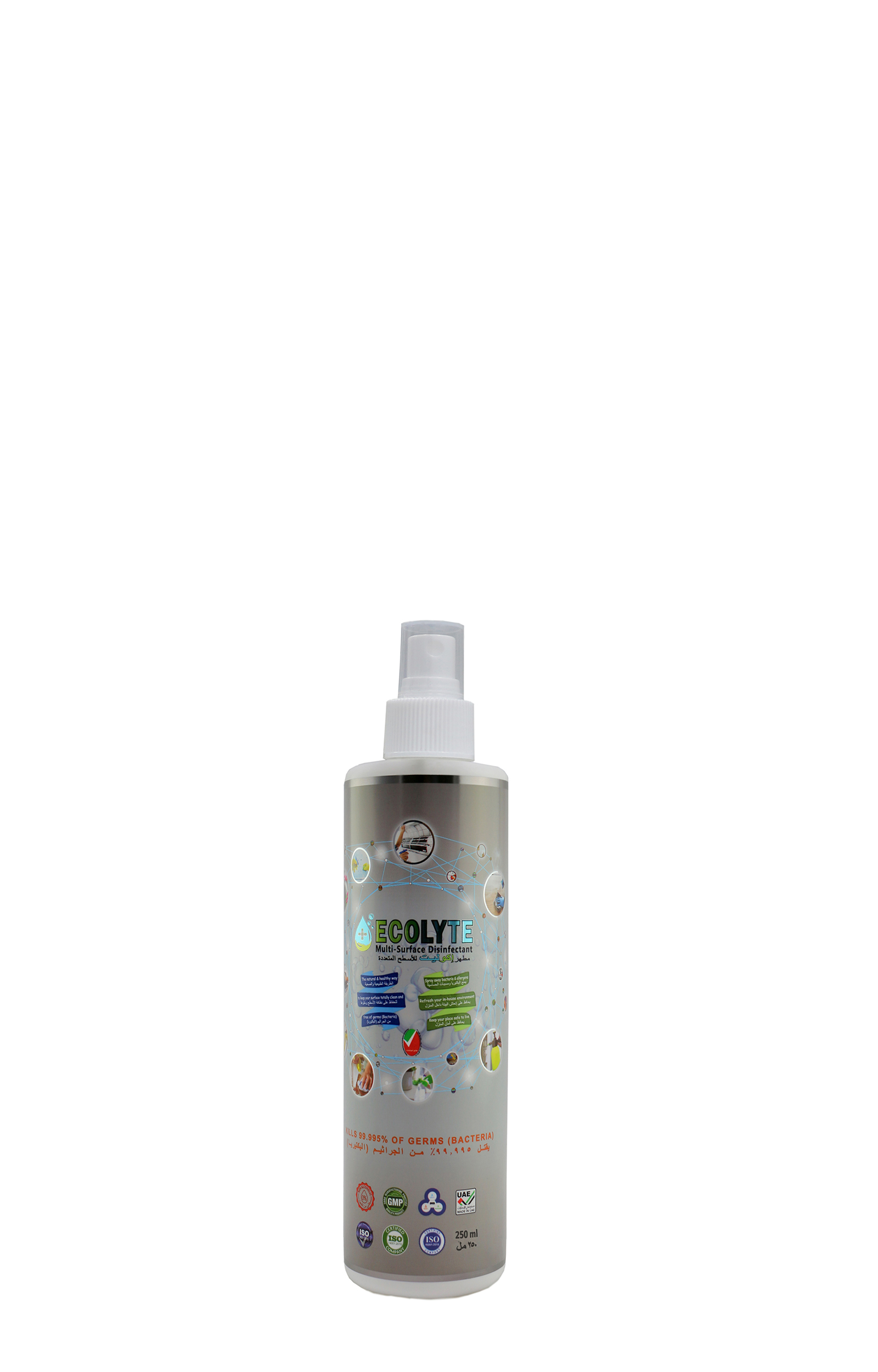 Ecolyte Multi-Surface Disinfectant 100% Natural - 250 Ml
