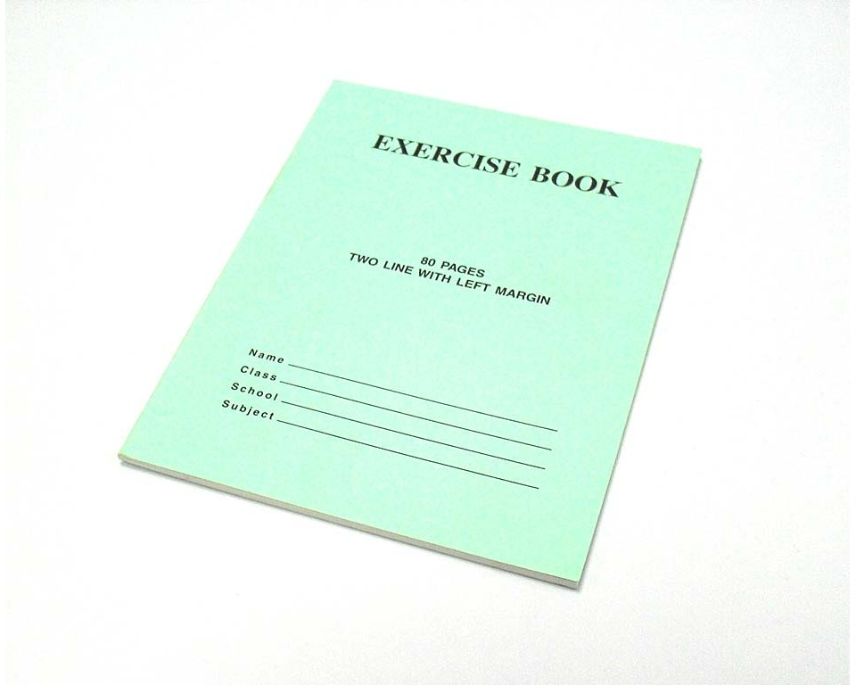 Exercise book printing