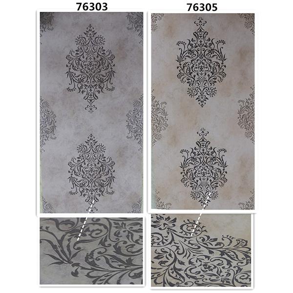 Non-woven wallpaper - arlington series - 76305 76306