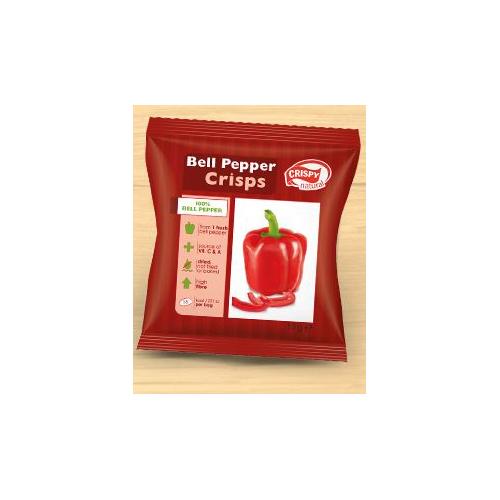 Bell pepper crsips