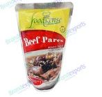 Food sense ready-to-eat beef pares 250g