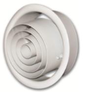 Air distribution products jet nozzles  jn / jb b-10 / 20, aluminum / gi construction.