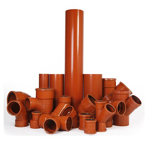 Upvc underground drainage systems