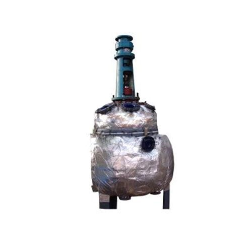 Experimental glass lined reactor