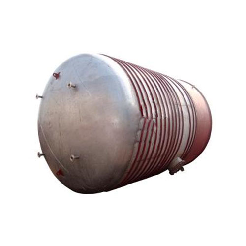 50m³ stainless steel 316l tanks with coil