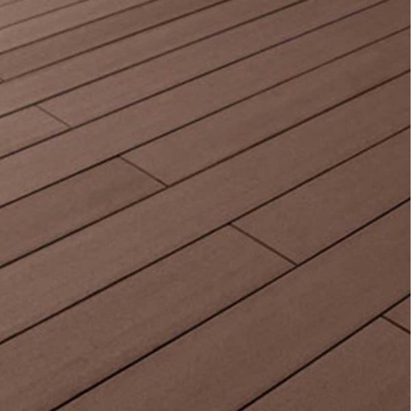 Outdoor flooring: red brown