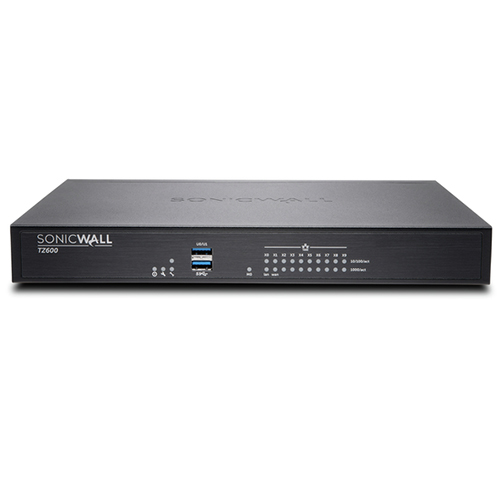 Sonicwall dell tz600 total secure