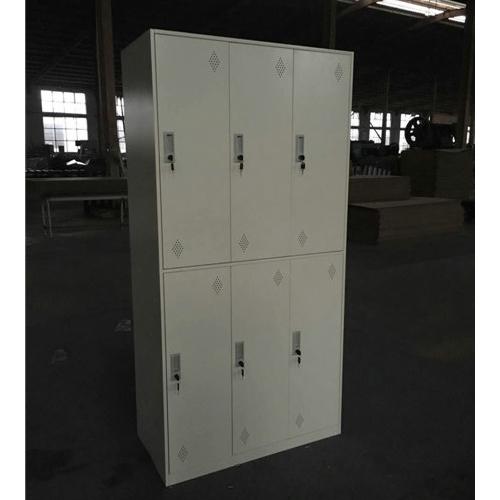 Narrow frame steel locker-6 door