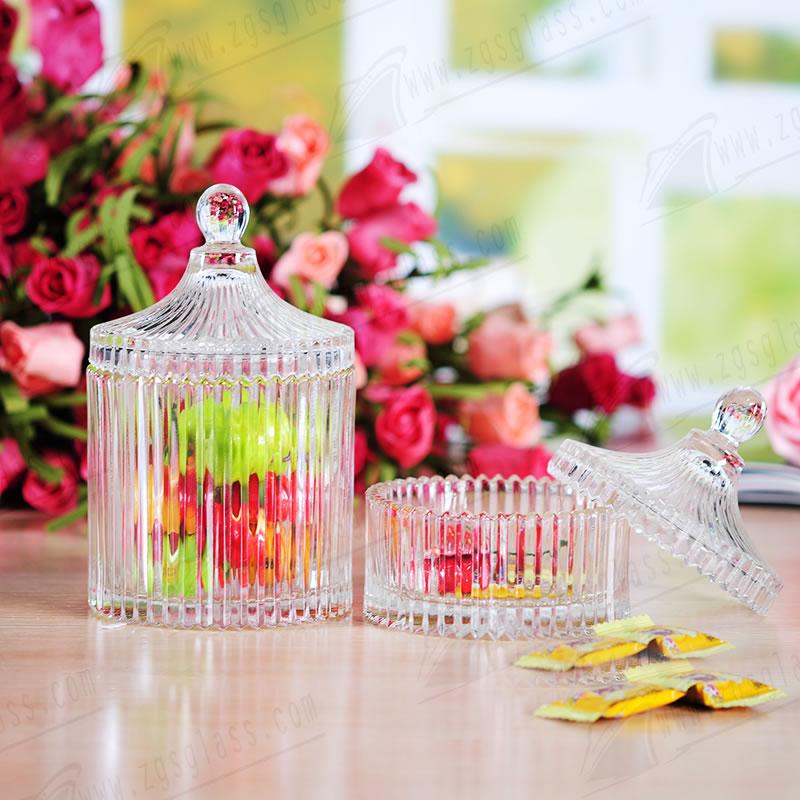 Glass storage jar 142460