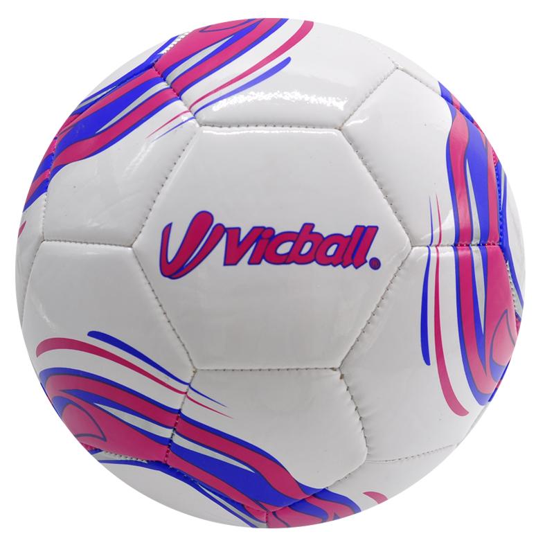 Pvc machine stitch soccer ball