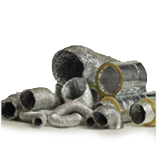 Insulated & uninsulated flexible duct