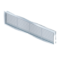 Linear bar grilles with & without damper
