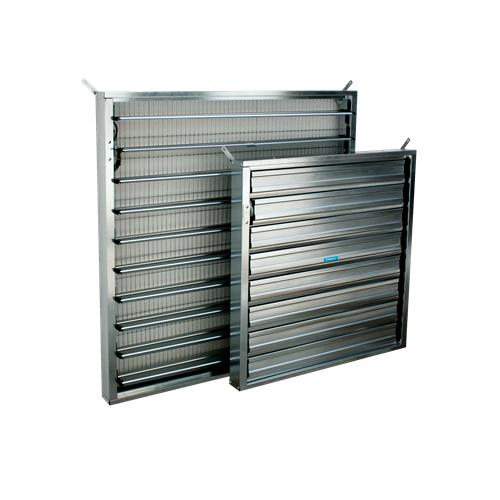 Smt inlet shutters
