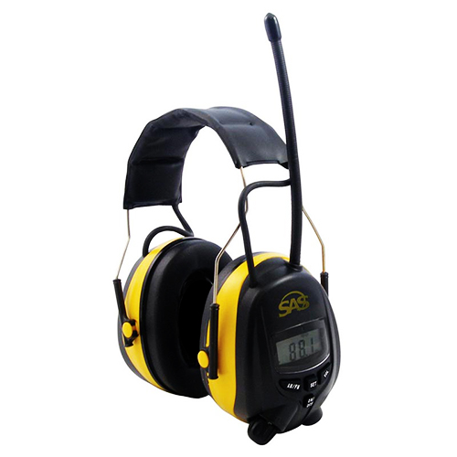 Bluetooth ear muff with fm radio