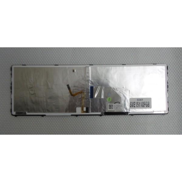 Original Keyboard Sony Vaio SVE15118FGB Part No.: 149025811US_4