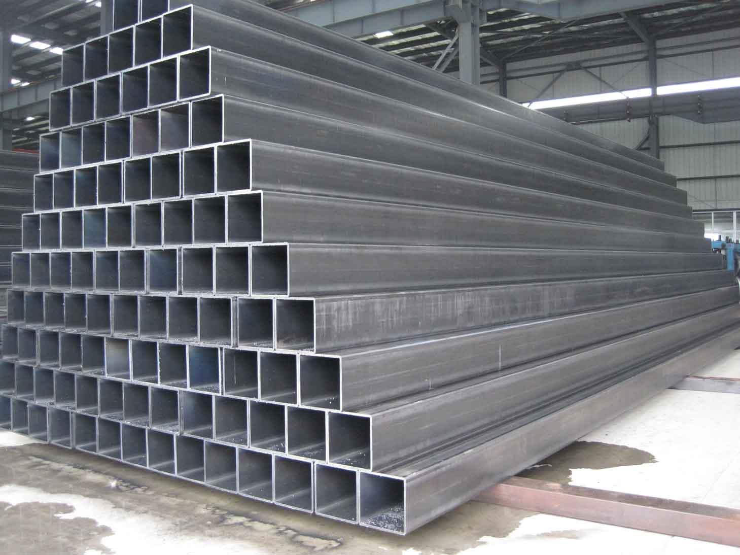 Black astm a500 grade b steel pipe in china dongpengboda