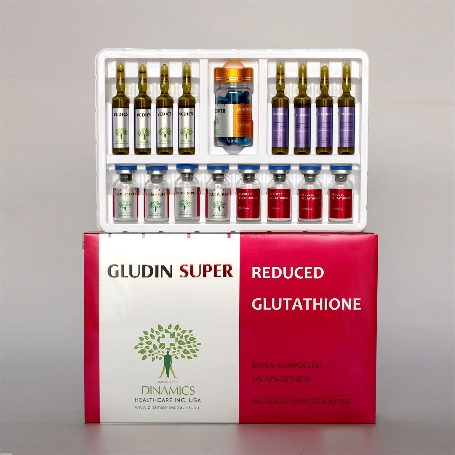 GLUDIN SUPER (Glutathione Skin Whitening Injection)_2