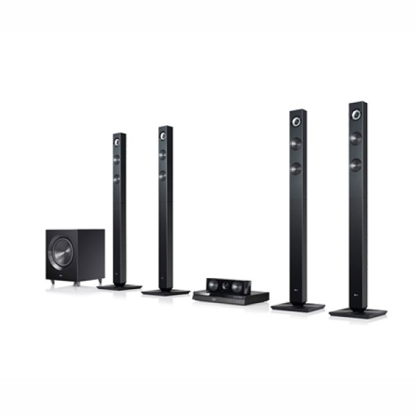 Lg 3d blu-ray / dvd home theater system bh7520t (open box -display piece)
