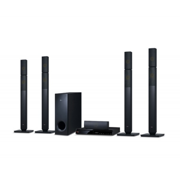 Lg 3d blu-ray/dvd home theater system bh6730t (bh6730t, s63t2-s, s63s2-c, s63t1-w)  (open box -display piece)