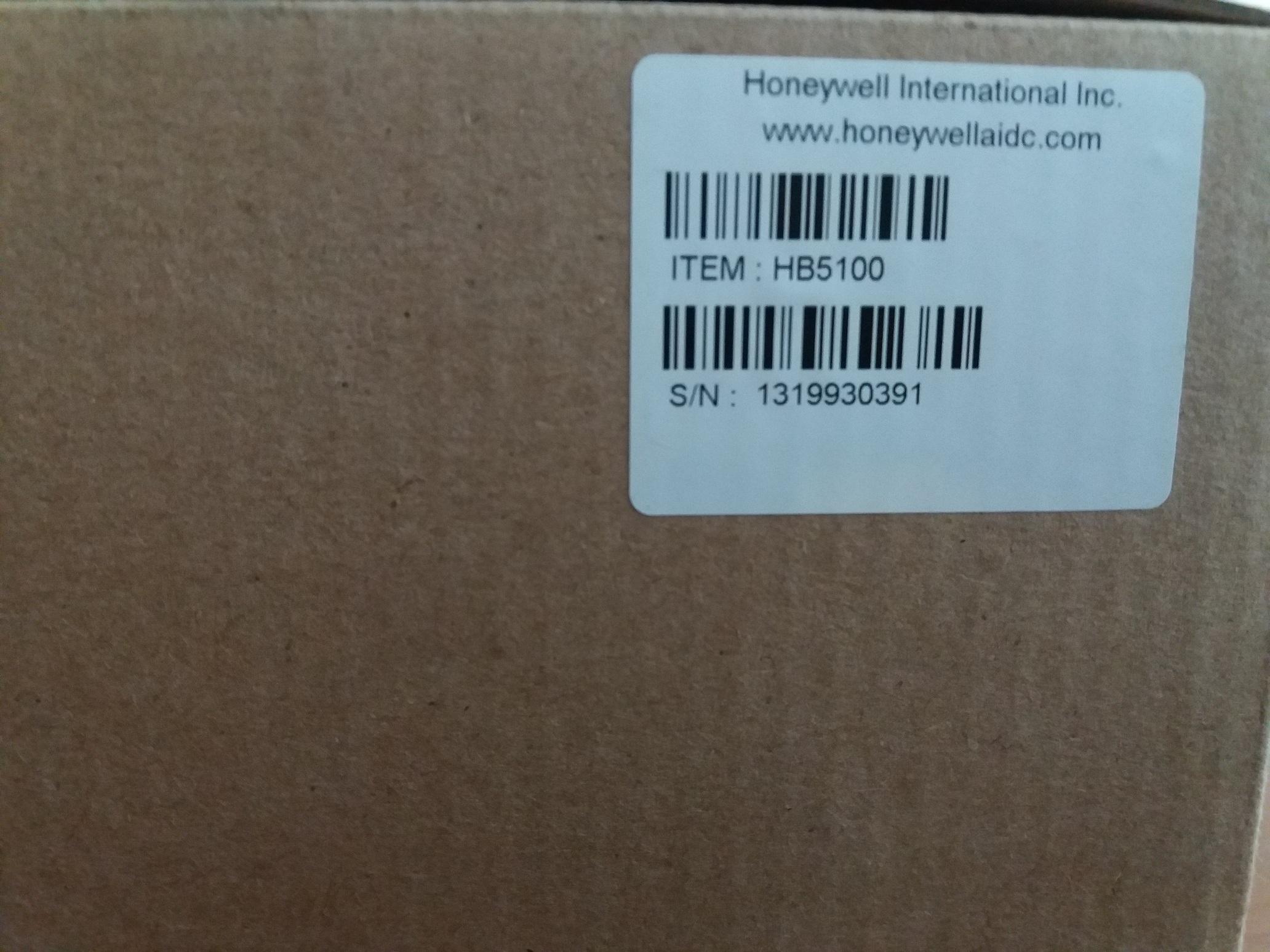 Honeywell hb5100