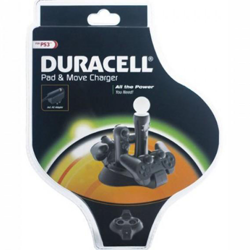 Duracell ps3025du pad & move charger for ps3