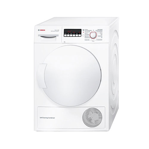 Bosch dryer with heat pump 8kg a ++ wtw85202ee white